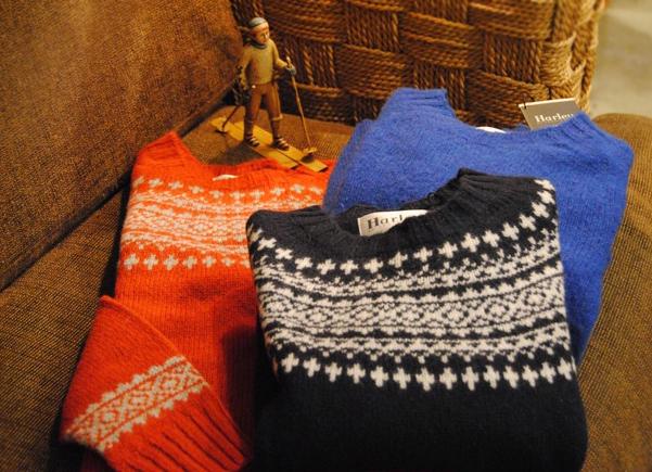 懐かしのフェアアイルセーター